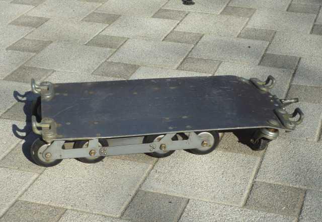 Тележка с поворотными колесами