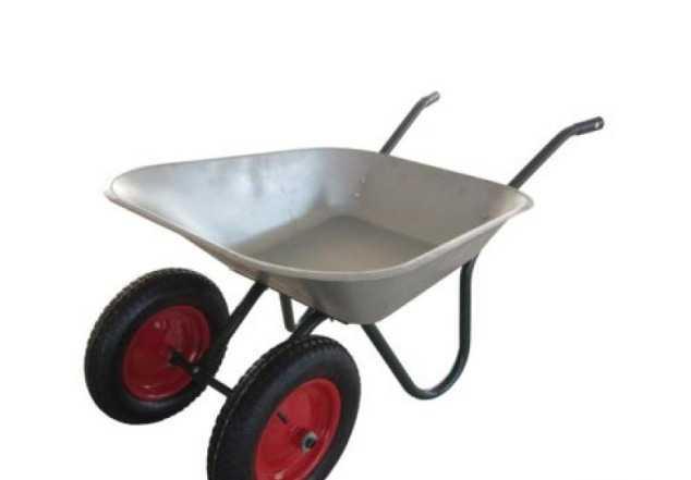 Тачка садово-строительная, грузоподъемность 120 кг