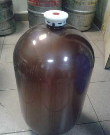 Бутыль пластиковая 30 л