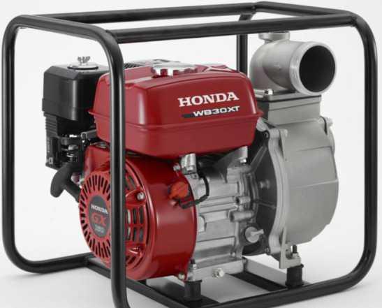 Бензиновая водяная помпа хонда WB30XT
