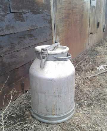 Фляга алюминевая 40 литров пищевая