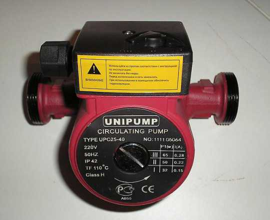 Циркуляционные насосы и др. оборудование unipump