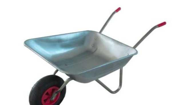 Тачка садовая, грузоподъемность 65 кг, объем 65 л
