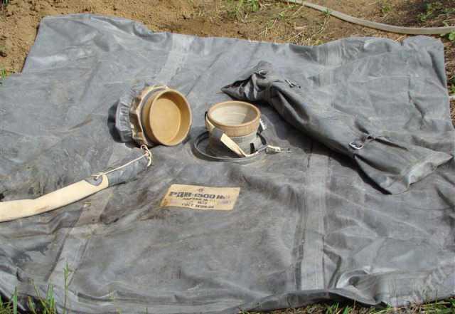 Резервуар резино-тканевый для питьевой воды 1500 л