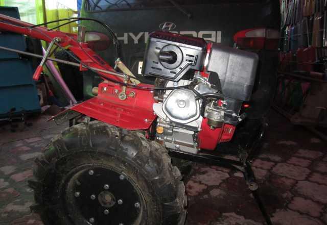 Мотокультиватор с тележкой