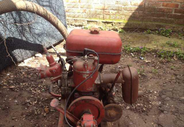 Пожарная водяная помпа