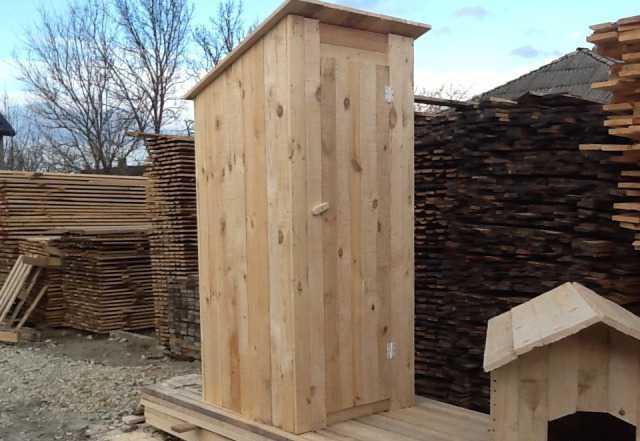 Изготовление дачных туалетов и душевых