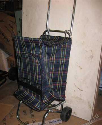 Тележка тр 2с, гп 30кг, складная с сумкой