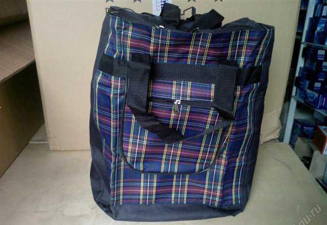 Сумка багажная для тележек с ручками и крепежом