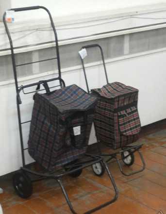 Тележка складная гп до 25кг с сумкой. изг. Россия