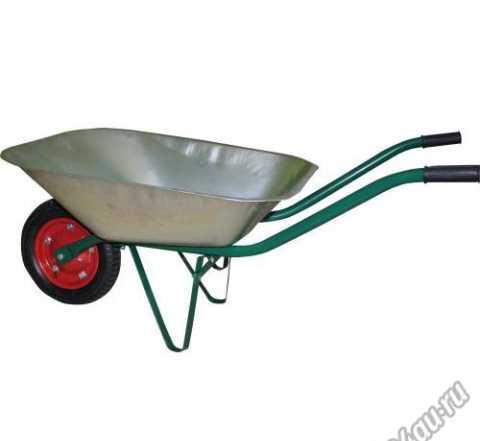 Тачка садовая WB 5206 1колесо (пневмо колесо)