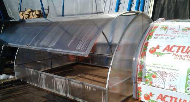 Парники, теплицы любые металлоконструкции для дачи