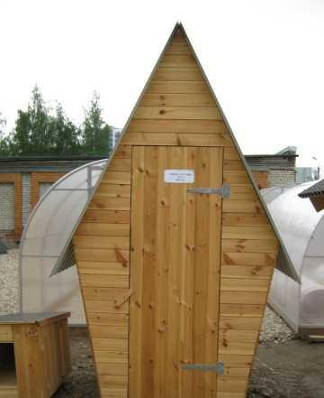 Изготовление туалетов, курятников и садовой мебели