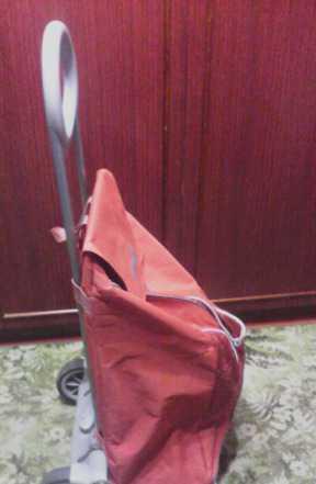 Тележка с сумкой