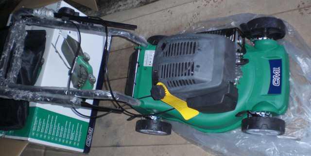 Газонокосилка бензиновая 149 см3 2.1 кВт новая