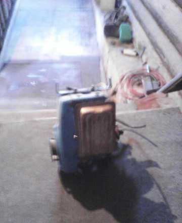 Двигатель от мотоблока кротом на запчасти