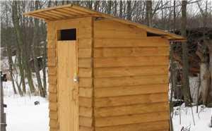 Туалет строительный