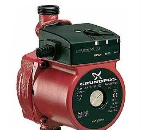 Водный насос Grundfos UPA 15-90 для любых целей