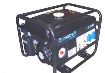 Генератор Sturmkraft LC3000