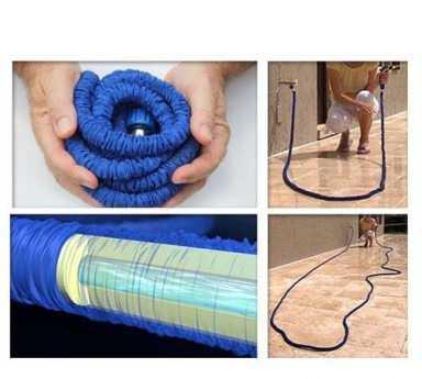 Водяной шланг xhose длина 30 М. подарок запорный