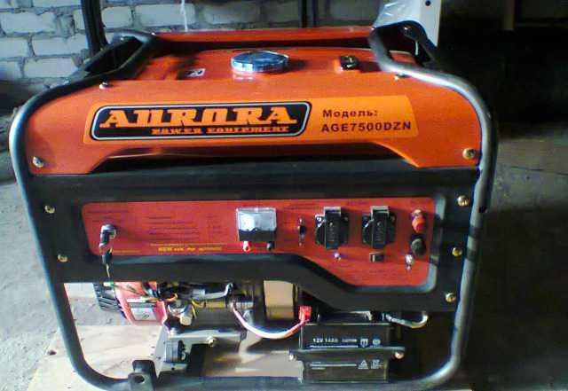 Бензогенератор 6500 kW Avrora