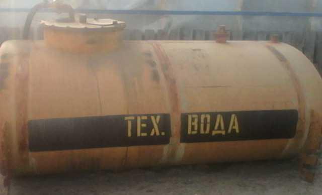 Ёмкость цистерна б/у под тех воду 6.5 м3
