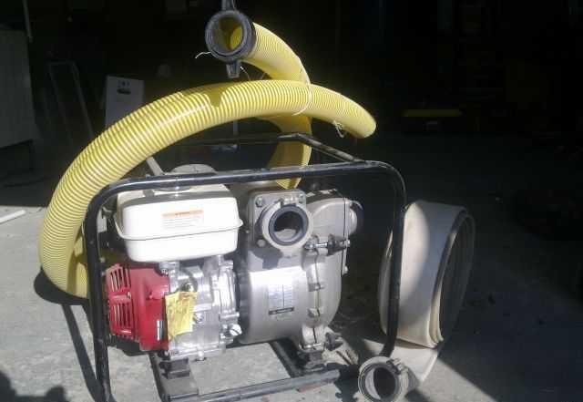 Грязевая Мотопомпа KTH-80X. 80 м3/час. 2.7 атм. Яп