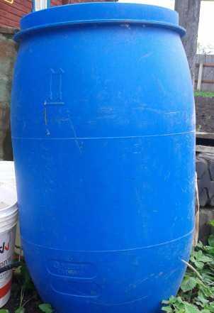 Бочка пластик объем 127 л