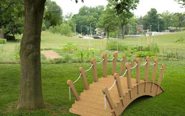Мостик для оформления сада, фотосессий