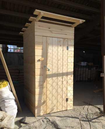 Дачный туалет и душевая кабина