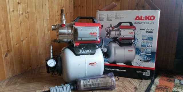 Продаю насосную станцию AL-KO HW 3500 с фильтром
