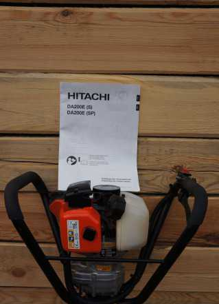 Мотобур Hitachi DA200 + бур для грунта на 200мм