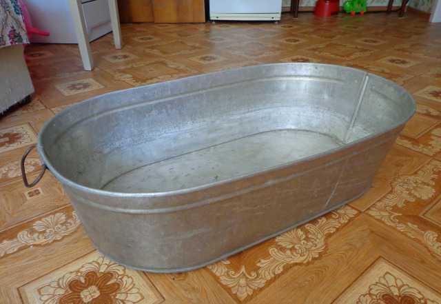 Ванна для дачи под рассаду или под воду