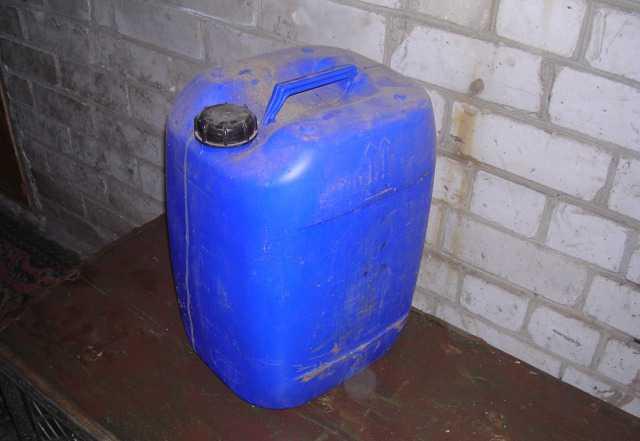 Канистры пластиковые под воду 30л