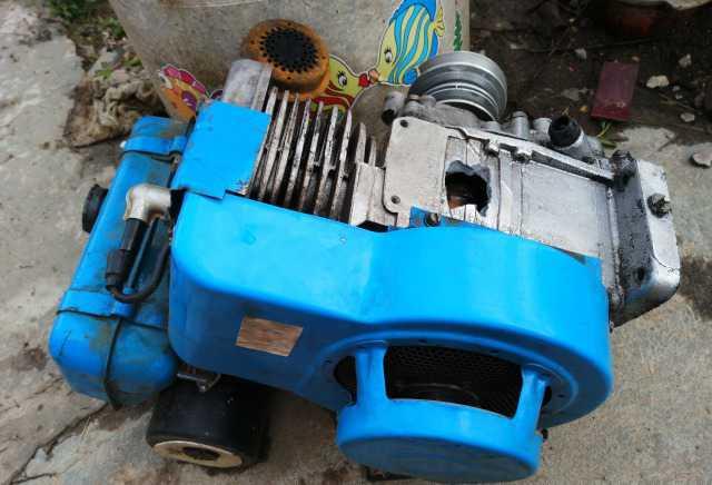 Двигатель мотоблока Нева мб-2 на запчасти