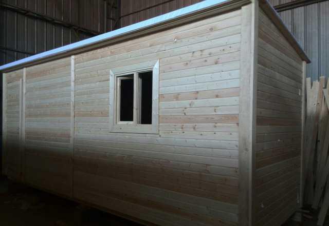 Бытовка деревянная. Производство