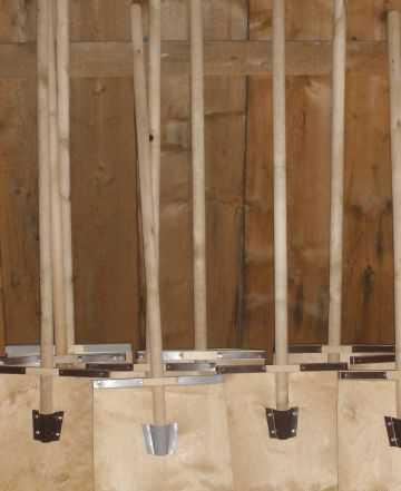 Продаю деревянные лопаты для уборки снега