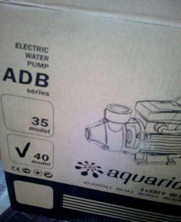 Насос aquaРио adb 40