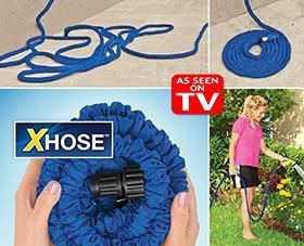 Водяной шланг Xhose (Икс-Хоз) + насадка распылител