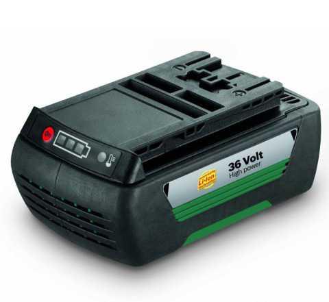 Аккумулятор для газонокосилок Bosch 36В/2.6 Ач