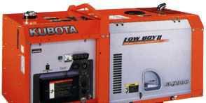 Дизельгенератор kubota GL 9000