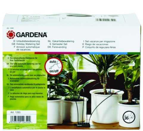 Автополив комнатныx растений Гардена