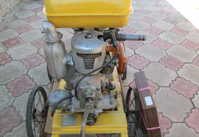 Бензиновый насос для полива