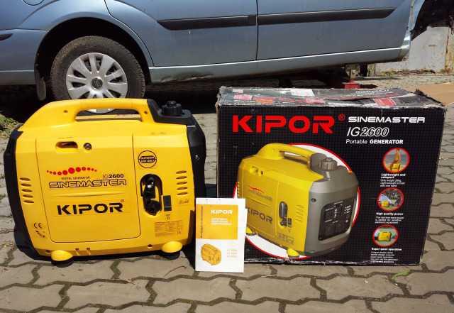 Kipor IG 2600, новый