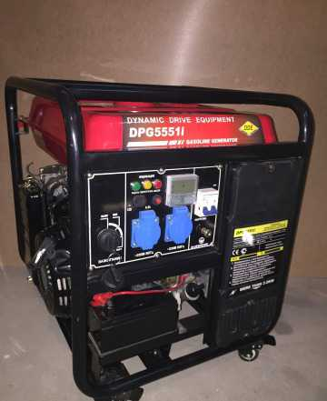 Бензогенератор инверторный 6 кВт