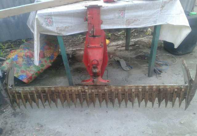Сегмента косилка для мини трактора и мотоблока