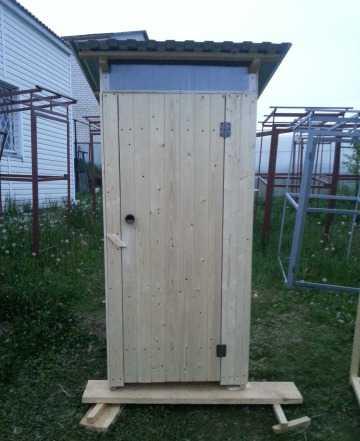 Туалеты для дачи деревянные