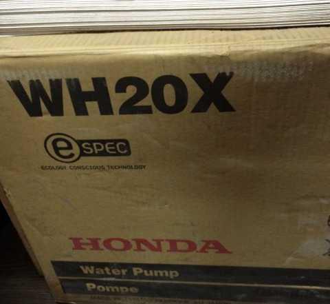 Мотопомпа Хонда WH20X Высоконапорная В упаковке, н