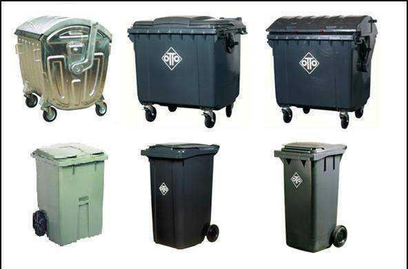 Контейнеры, урны для мусора