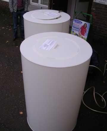 Емкости пластиковые (готовые и под заказ)